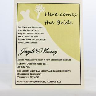 Jayde Bridal Shower Invite