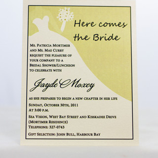 Jayde Bridal Shower Invite