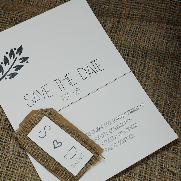 Save The Date - Nature
