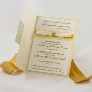 Gatefold Invitation
