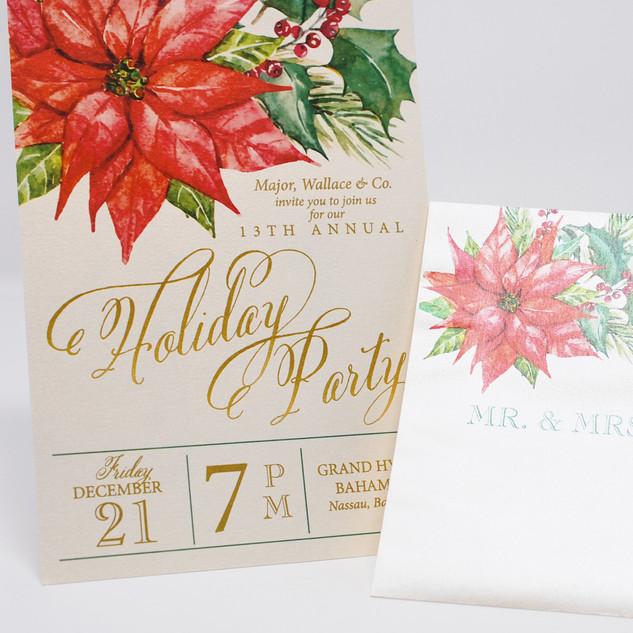 Matching Invitation & Envelope