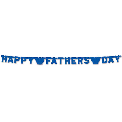 Foil Happy Father's Day Streamers