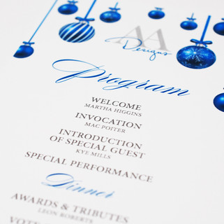 Program For The Occasion