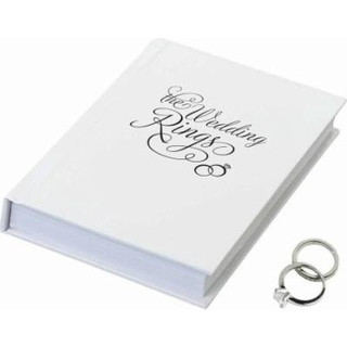 The Wedding Rings Ring Book Box