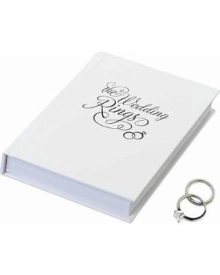 The Wedding Rings Ring Book Box
