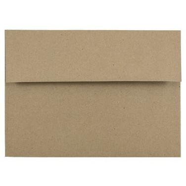 A7 Brown Bag Kraft Envelope