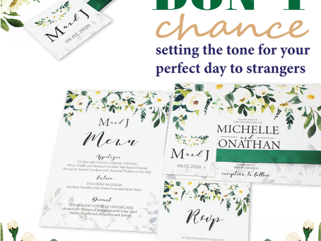 Trust Your Local Wedding Invitation Experts