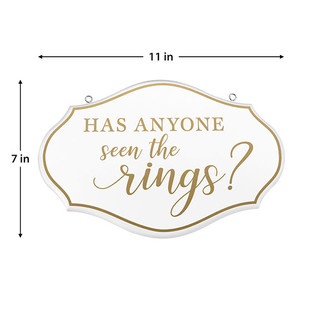 Has Anyone Seen The Rings Sign