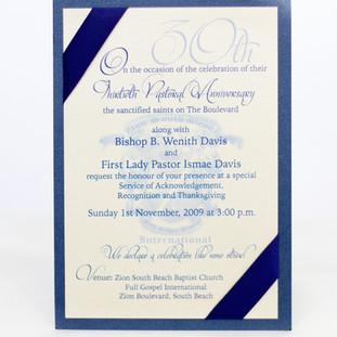 Tiered Invitation