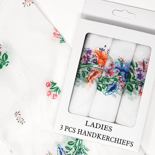 Women's Handkerchief 3 Piece Set