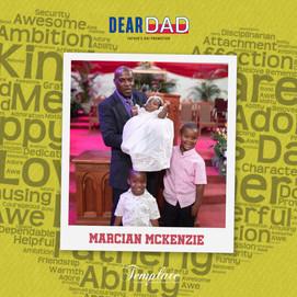 Happy Father's Day Marcian McKenzie