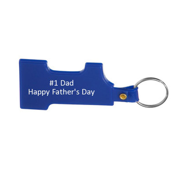 NEW - #1 Day Keyring