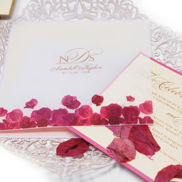 Inside the invitation