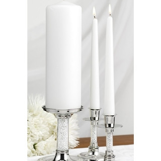 Glittering Beads - Candle Stand Set