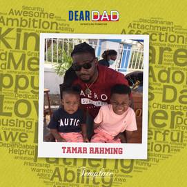 Happy Father's Day Tamar Rahming