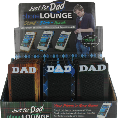 Dad Phone Lounge Stand