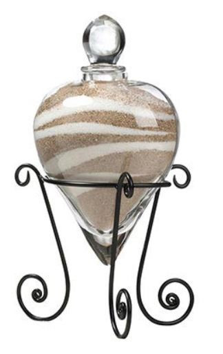Heart Unity Sand Vase with Stand