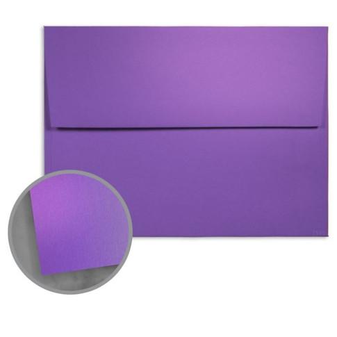 A7 So SIlk Fashion Purple Envelope