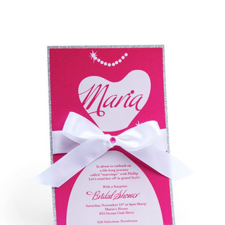 Maria Bridal Shower Invite