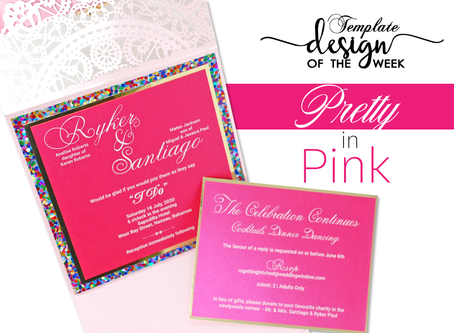 Design Of The Week - Pretty in Pink | Ryker & Santiago