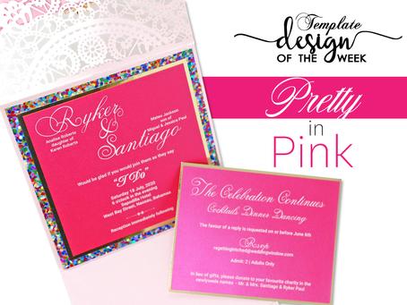 Design Of The Week - Pretty in Pink | Ryker & Santiago