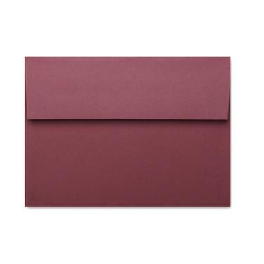A7 Basis Dark Red Envelope