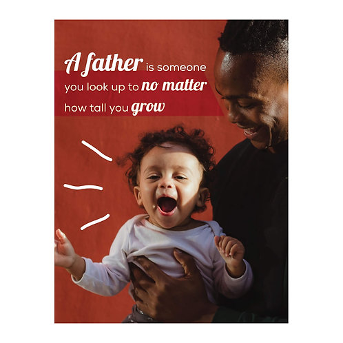 Father & Son Father's Day Card