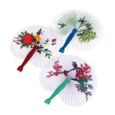 Traditional Folding Fans
