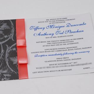 Tiffany Wedding Invite