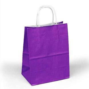 Grape Kraft Bag