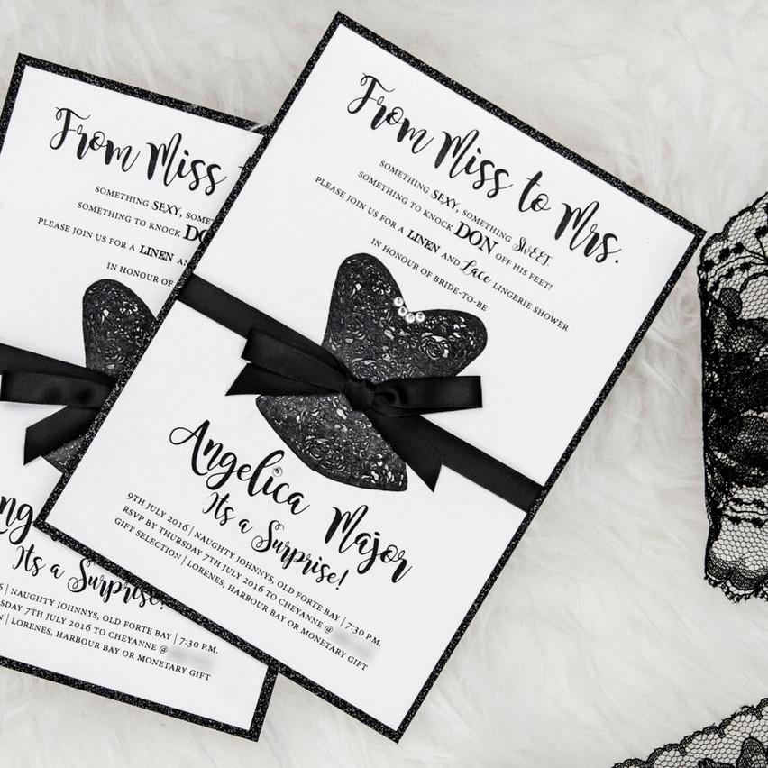 The Bridal Shower Invite