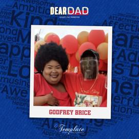 Happy Father's Day Godfrey Brice
