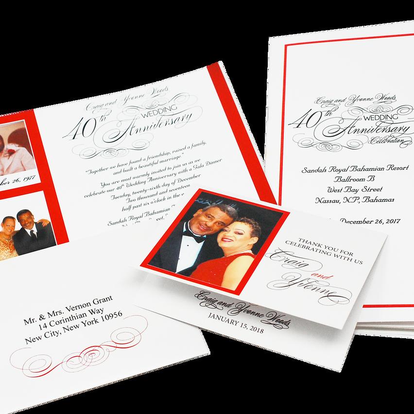 WeddingAnniversary Stationery