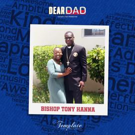 Happy Father's Day Bishop Tony Hanna