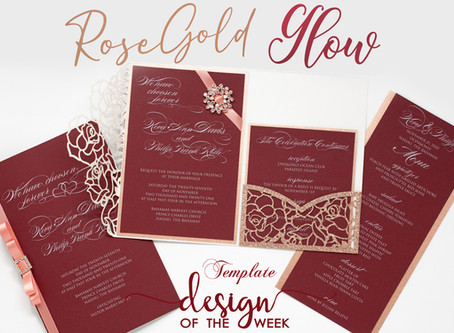 Design Of The Week - Rose Gold Glow | Keva & Philip