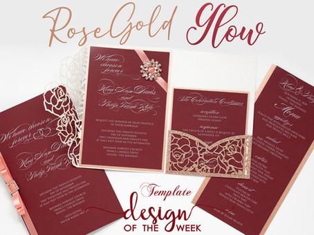 Design Of The Week - Rose Gold Glow | Keva & Philip