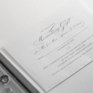 Matching gift envelopes
