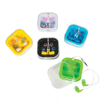 NEW - Ear Buds with Carry Case