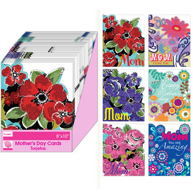 Mother's Day Die Cut Greeting Cards