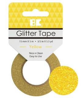Yellow Glitter Tape