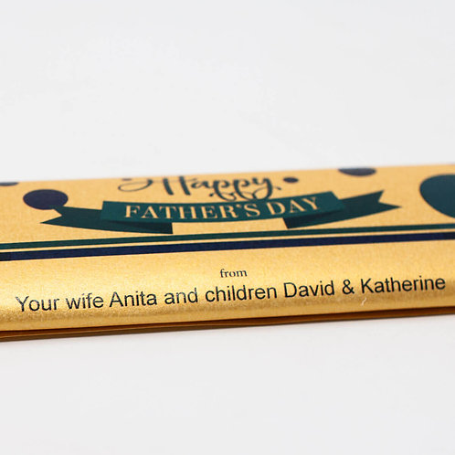 Personalized Chocolate Bars with Recepient's Name