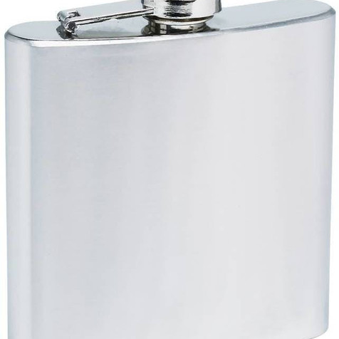 NEW - Stainless Steel 8oz Flask