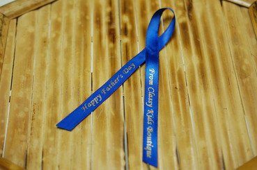 Father's Day Printed Ribbon