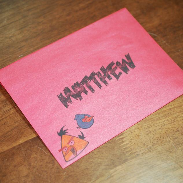 Theme envelope printing