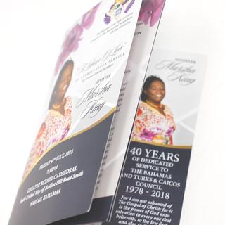 Honour Service Booklet