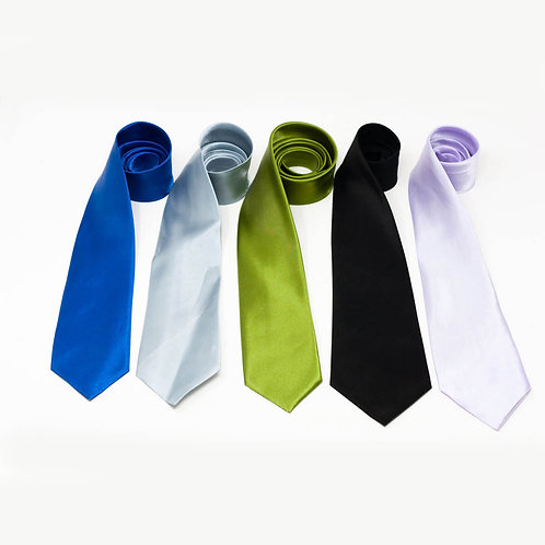 Solid Colour Ties