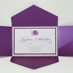 Purple Reign Pouchette