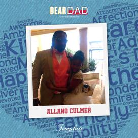Happy Father's Day Allano Culmer