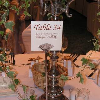Personalized Table Cards