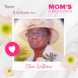 A Tribute To Olive Williams